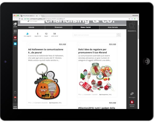 portale blog social
